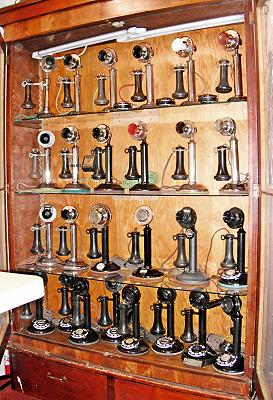 Candlestick Phones on Display at Phonemandave